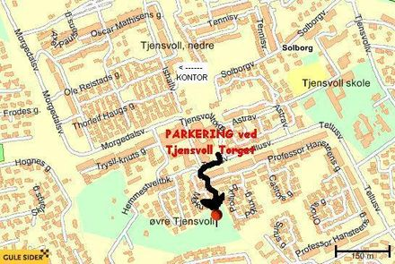 Sørmarka parkering